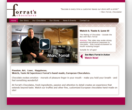Forrats Chocolates - Home